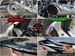 Restorasi Honda Supra X 125 tahun 2006, jadi kinclong dan menawan gans (8)