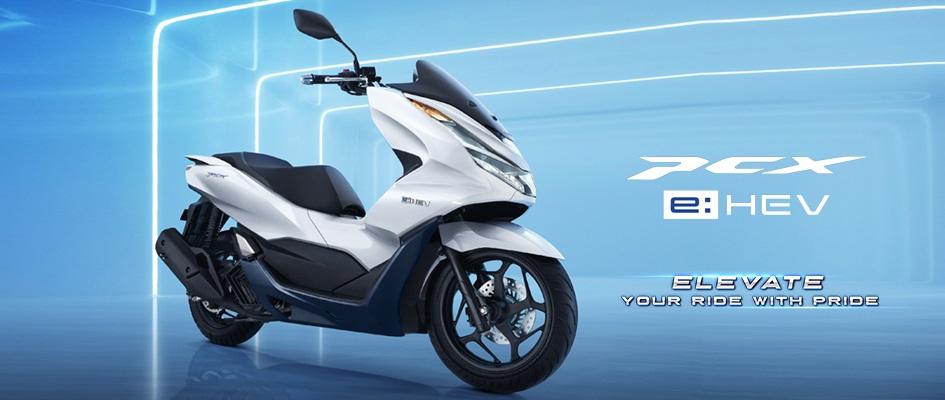 honda pcx 160 cc tahun 2021 4 katup versi hybrid