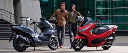 pilihan warna honda pcx 160 cc tahun 2021 4 katup