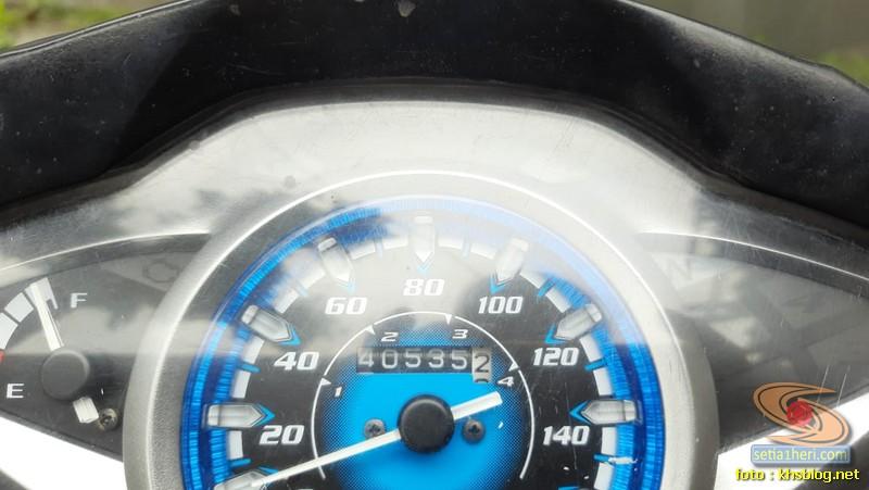 Lebih dekat Honda Supra X 125 Helm in tahun 2014 (1)
