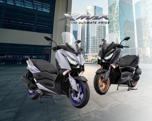 Matte Grey, tambahan warna baru Yamaha XMAX tahun 2021