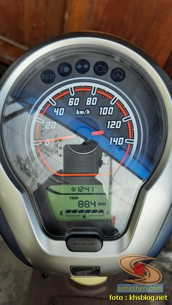 konsumsi BBM Honda Scoopy tahun 2020
