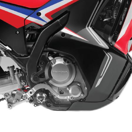assist slipper clutch pada Facelitf Honda CRF250 RALLY tahun 2021