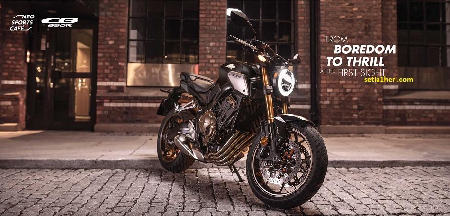 moge Honda CB650R tahun 2021
