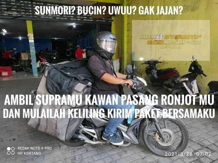 Kumpulan meme gokil Honda Supra, nyalakan Supramu kawans.... (6)