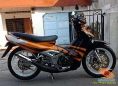Restorasi dan modif Suzuki Satria RU Alias Satria Lumba Tahun 2003 (9)