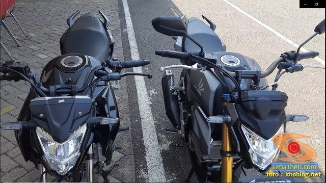 Adu ganteng Honda CB150R Streetfire versi 2021 dan versi 2020 (5)