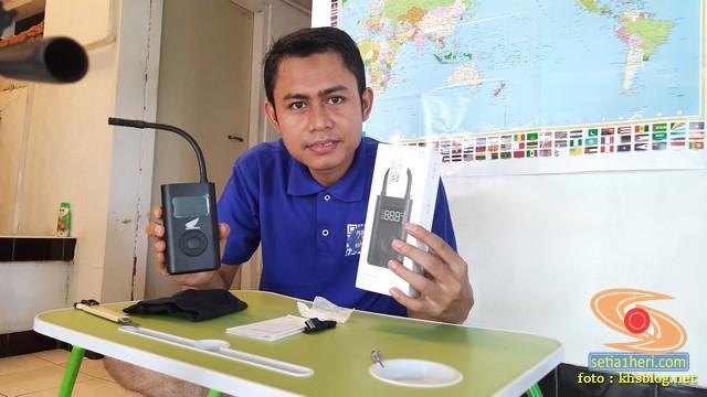 review lengkap pompa elektrik xiaomi mijia