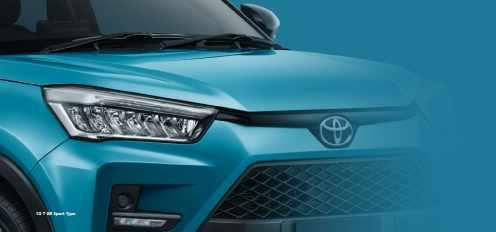 Gambar detail, daftar harga dan pilihan warna Toyota Raize tahun 2021 (10)
