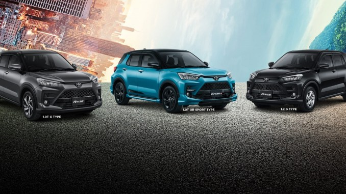 Gambar detail, daftar harga dan pilihan warna Toyota Raize tahun 2021 (23)