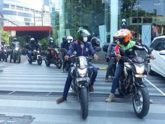 Kopdar Sunday Riding Gathering Komunitas Honda CB150R Jawa Timur 2021
