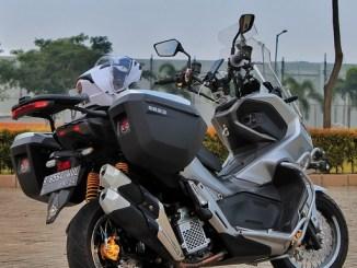 Modif Honda ADV 150 pakai knalpot CBR250RR gans...tampilan tambah kece (2)