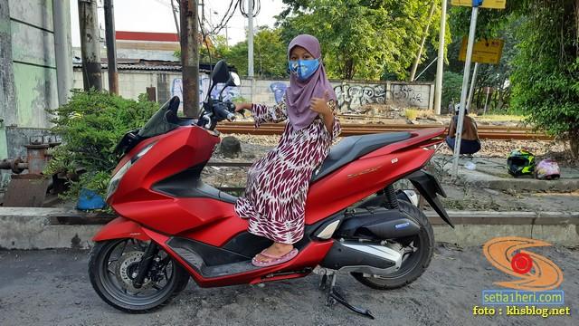 setia1heri Njajal Numpak Honda PCX 2021 versi ABS mak wuss gans... (1)