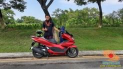 setia1heri Njajal Numpak Honda PCX 2021 versi ABS mak wuss gans... (6)