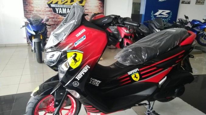 4 Modifikasi All New NMAX 155 di Dealer Yamaha Mataram Sakti Nganjuk