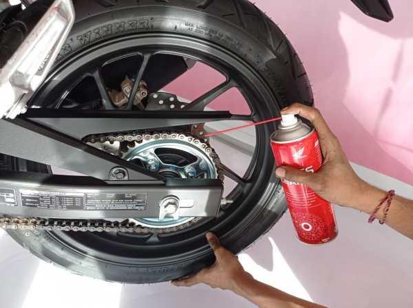 Cara merawat rantai sepeda motor biar awet dan optimal brosis...