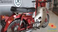 Lebih dekat dengan motor bebek lawas Honda super cub C70 alias si pitung