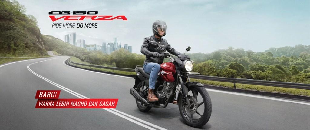Warna baru Honda CB150 Verzatahun 2021, makin gagah gans...