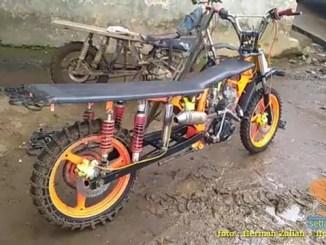 Honda Tiger modif buat angkut hasil kebun alias macan gunung gans... (1)