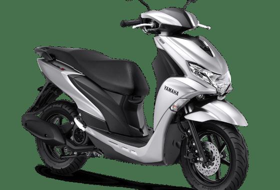 Pilihan warna baru Yamaha FreeGo tahun 2021, ada Prestige Silver gans...