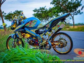 Halah Yamaha Vixion ini dijual tak laku-laku...hehehe