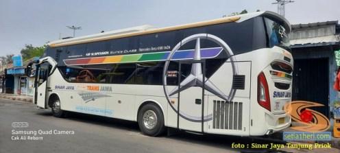 Tarif Bus Sleeper Sinar Jaya tujuan Jakarta - Madura (2)