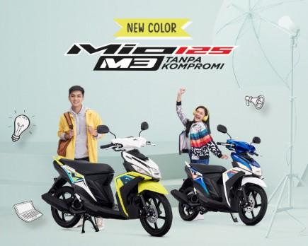 4 Warna baru Yamaha Mio M3 125 tahun 2021