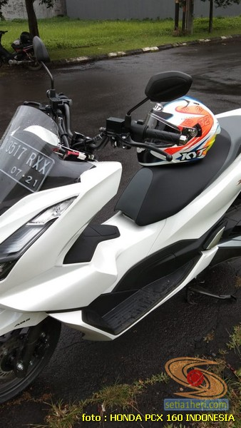 Honda PCX 160 ganti stang Honda CB150R atau Beat Street, enak mana