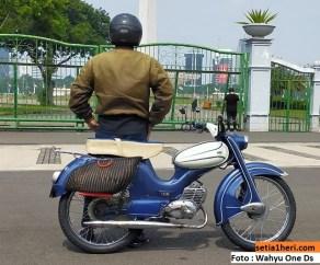 Restorasi motor Jerman antik dan unik DKW Hummel Super tahun 1960 asal Jakarta (2)