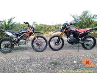 Enak mana Honda CRF150L dan Kawasaki KLX150, obrolan ringan gans...