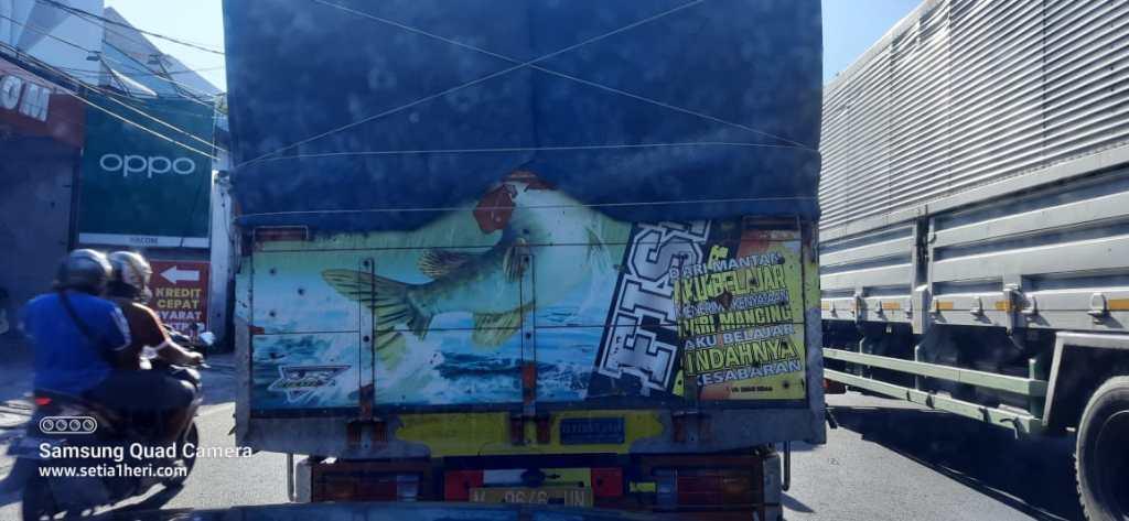 Tulisan bak truk inspirasi sang mantan