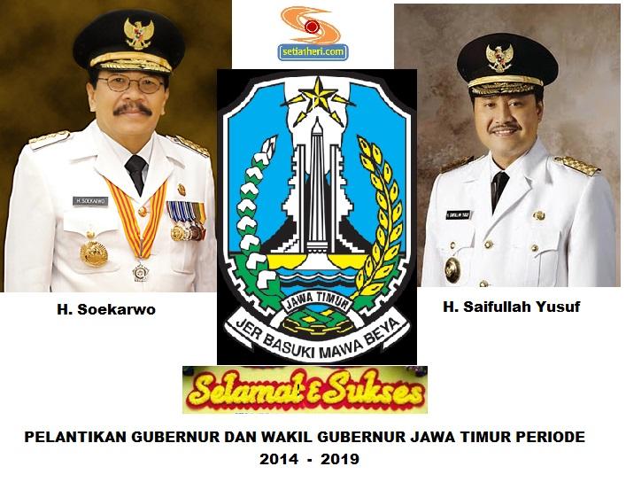 Selamat dan Sukses pelantikan gubernur dan wakil gubernur