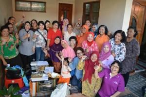 Semangat kebersamaan di kelompok 503