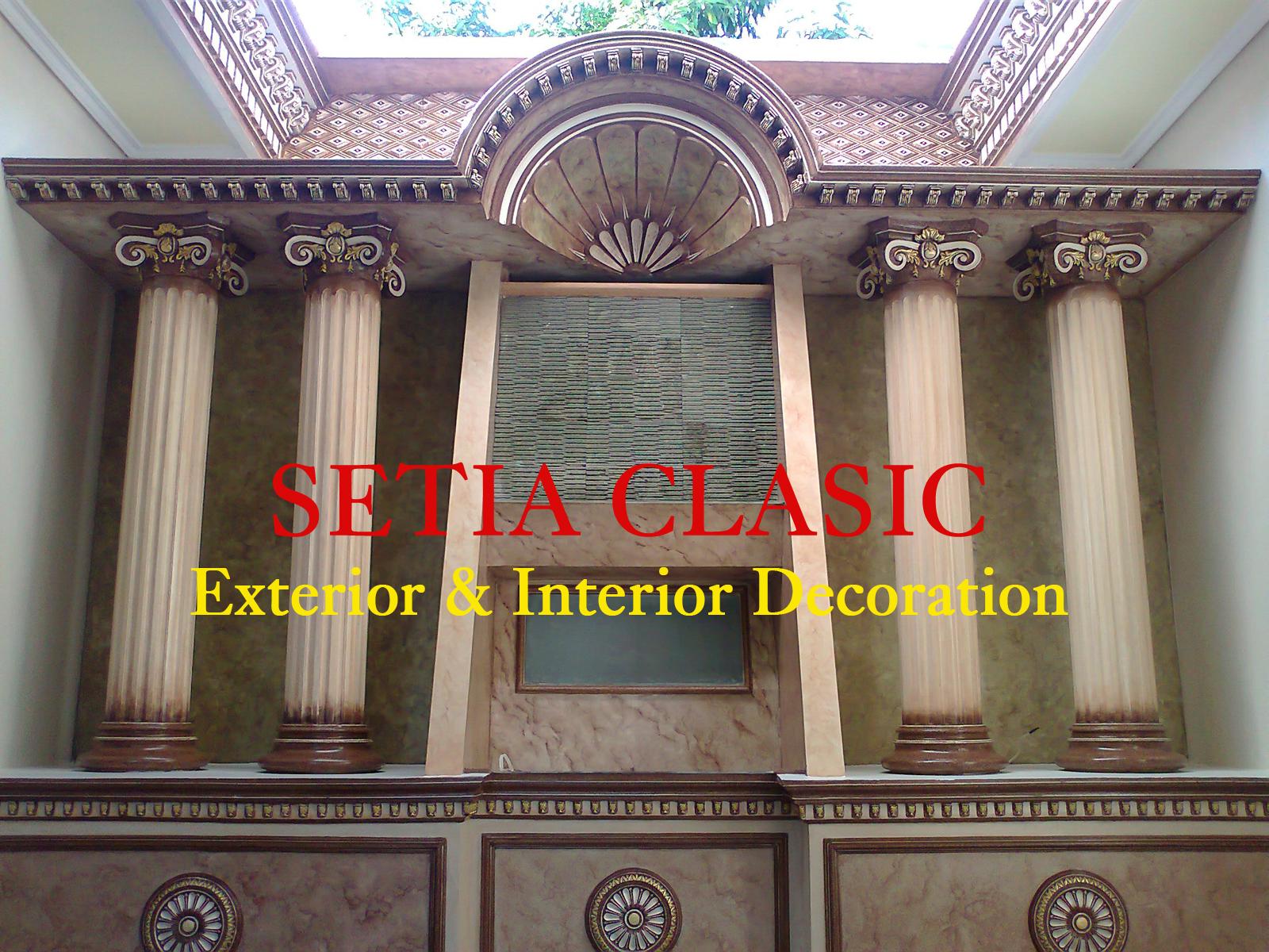Pilar Sebagai Simbol Kekuatan Arsitektur Bangunan  Setia