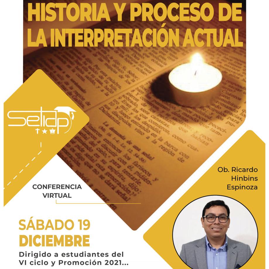 Conferencia Virtual: Interpretación Bíblica