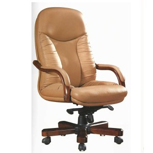 RF521A - High back chair - genuine leather