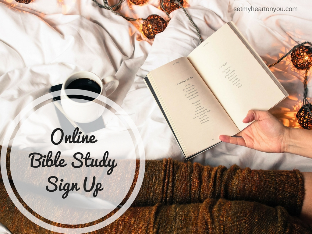 Online Bible Study Sign Up