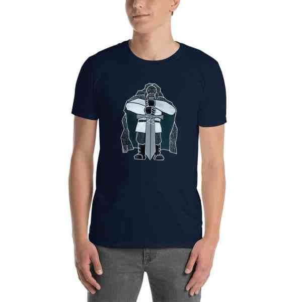 unisex basic softstyle t shirt navy 5fcfba1185722