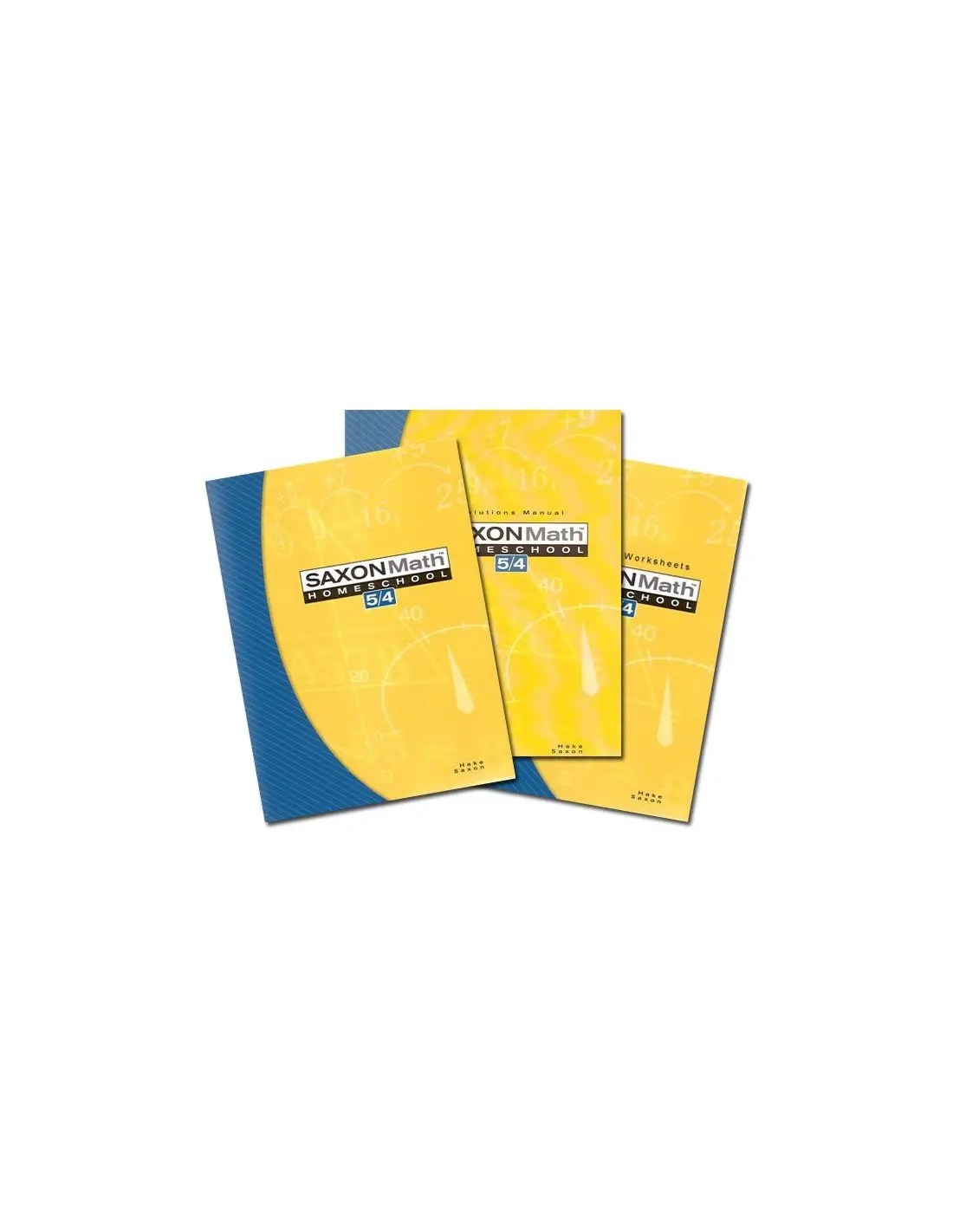 Saxon 54 Home Study Kit 3rd Ed