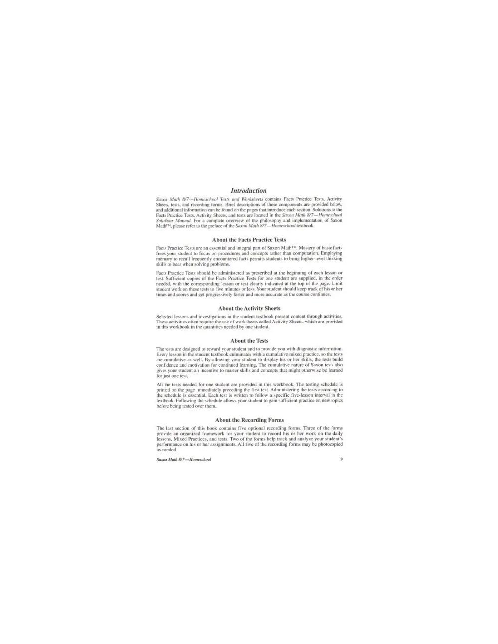 medium resolution of Saxon 87 (Homeschool