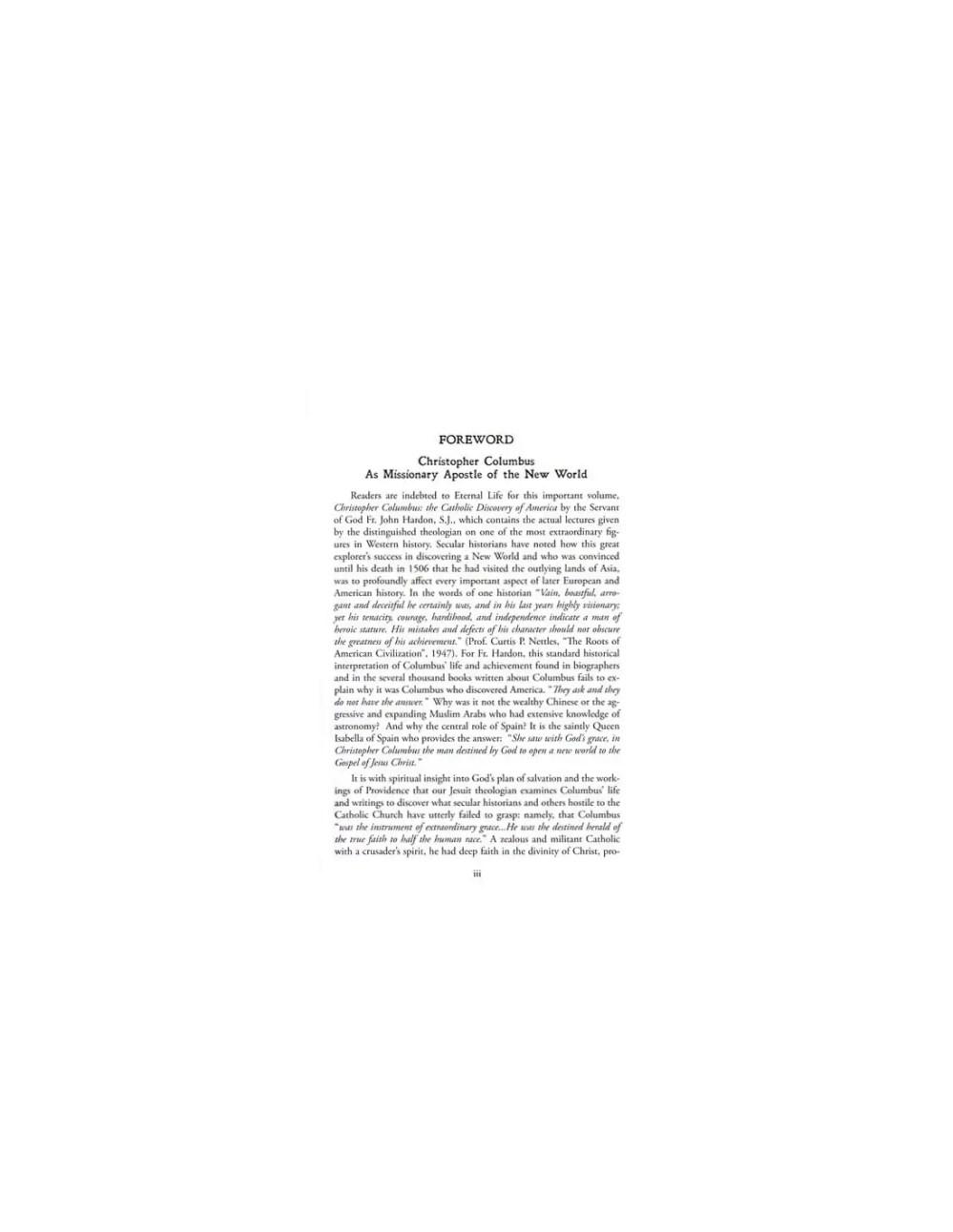 medium resolution of Christopher Columbus: The Catholic Discovery of America