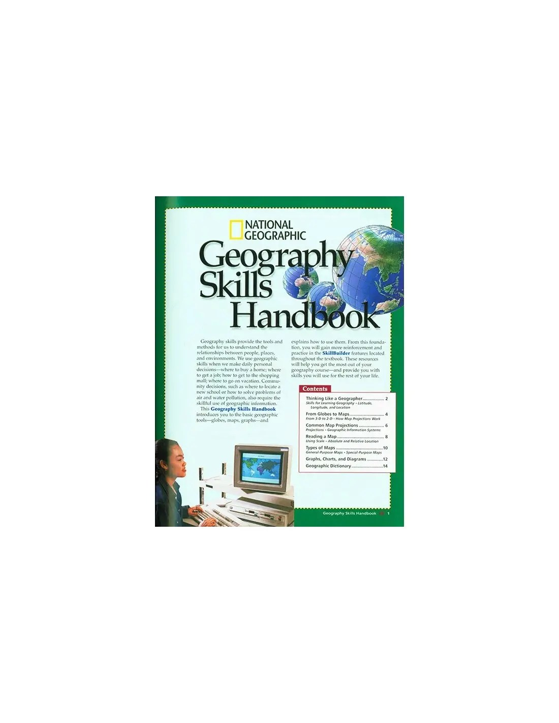 World Geography Textbook Ed Used