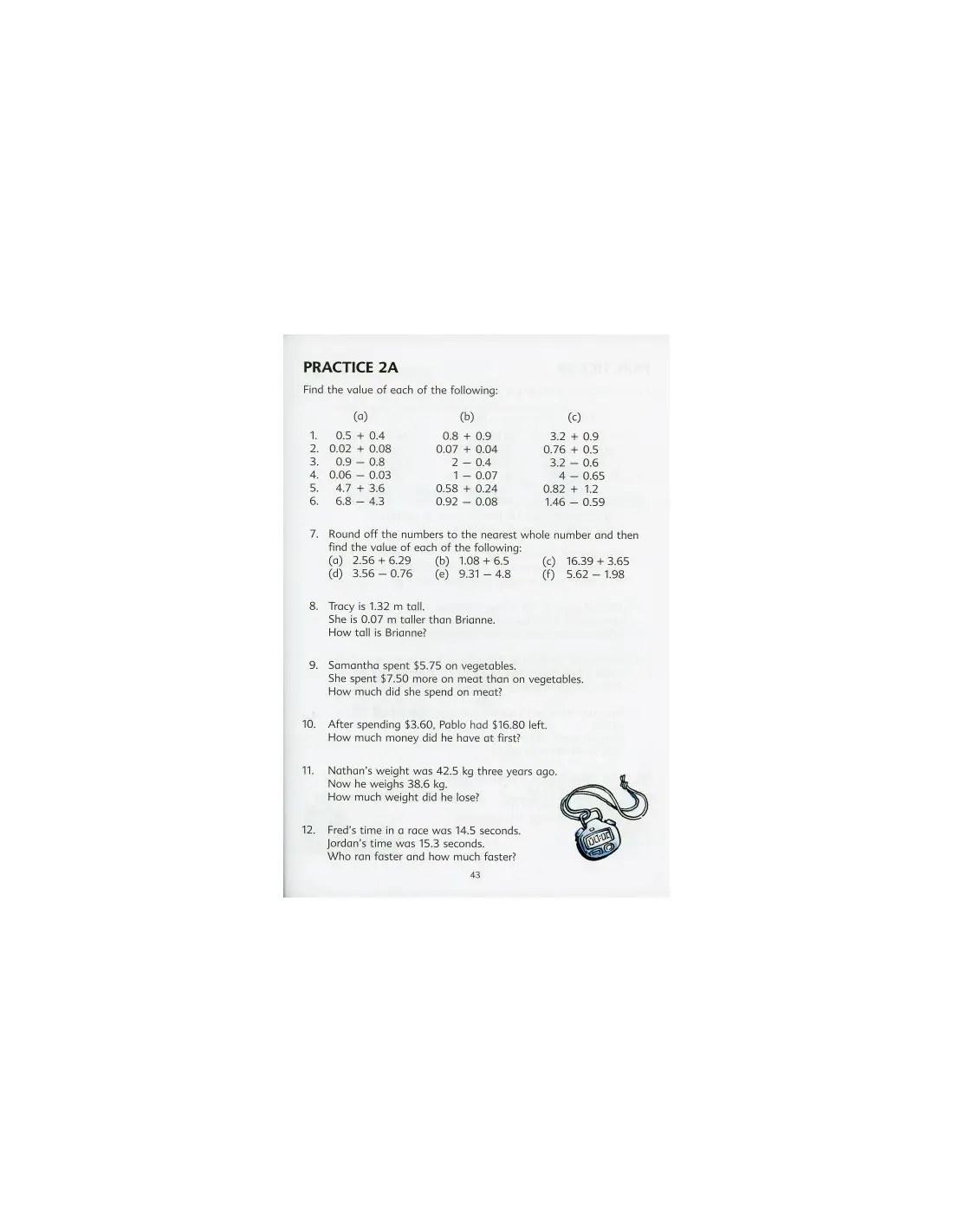 Singapore Math Grade 4 Textbook 4B