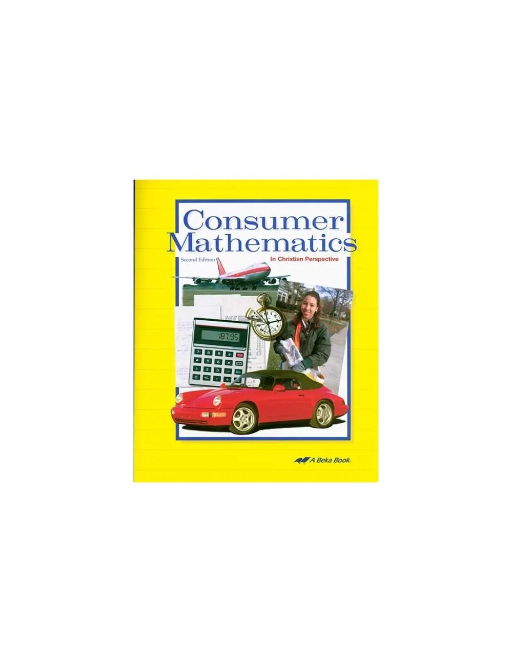 medium resolution of Consumer Math