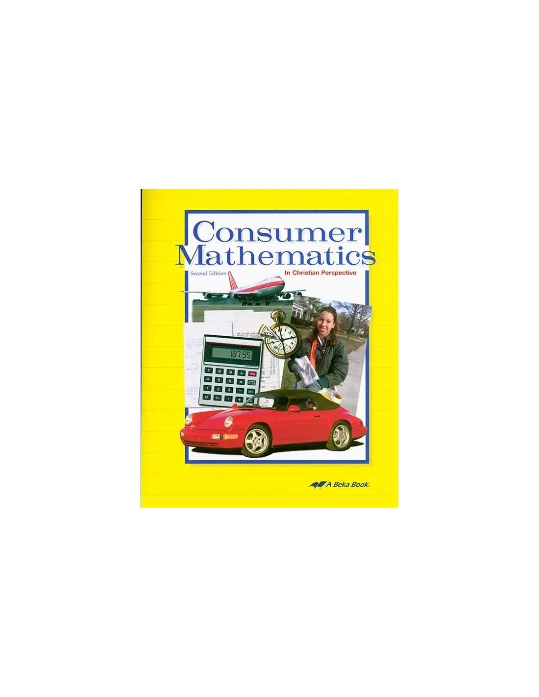 hight resolution of Consumer Math