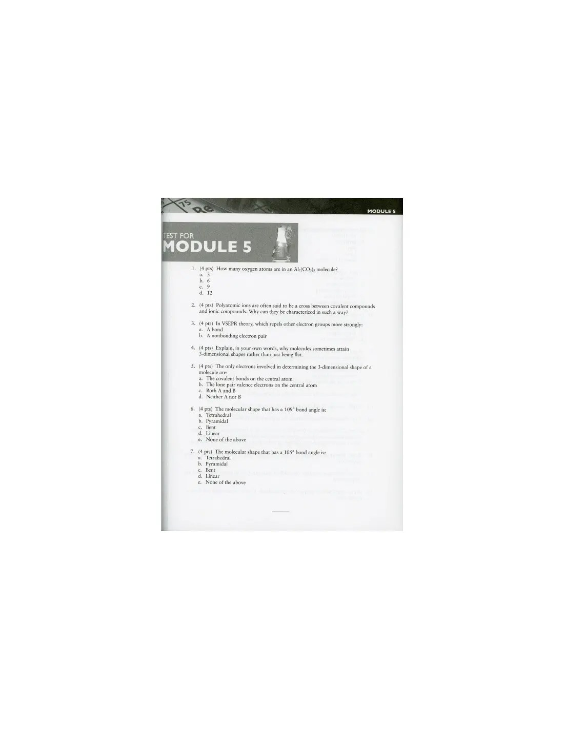 Exploring Creation with Chemistry Solutions Manual (3rd Ed.)