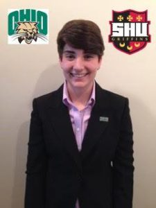 Burry poses for an official photo, courtesy of SHU Intramural's & Campus Recreation Facebook Page.