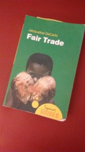 "The class studies from the book ""Fair Trade: A Beginners Guide"" by Jacqueline DeCarlo. Photo courtesy of H.Carnahan/Setonian"