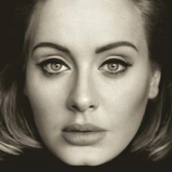 Adele's 25 album cover. Photo courtesy by Google images.