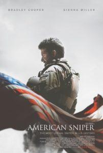 American Sniper, U.S. soldier Kyle (Bradley Cooper) the deadliest marksman.